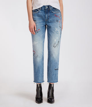 Graff Boys Frayed Jeans