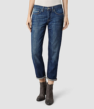 Womens Boys Jean/Indigo (Dark Indigo)