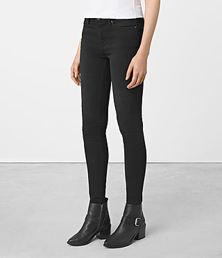 Womens Grace Jeans (SOFT BLACK)