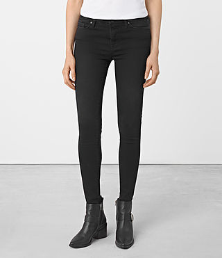 Mujer Grace Jeans (SOFT BLACK) - product_image_alt_text_2