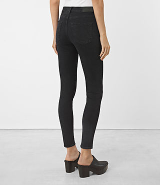 Womens Eve Jeans (Washed Black) - product_image_alt_text_3
