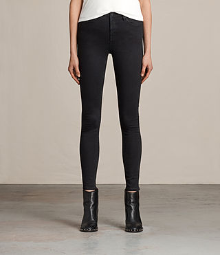 Women's Eve Lux Jeans (Black) -