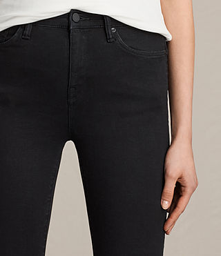Womens Eve Lux Jeans (Black) - product_image_alt_text_2