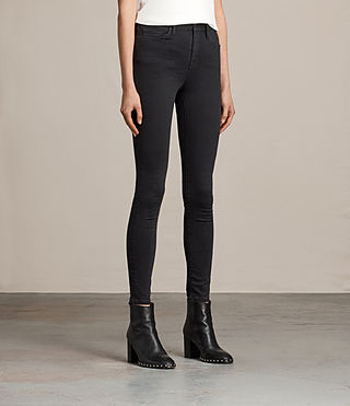 Mujer Eve Lux Jeans (Black) - product_image_alt_text_3