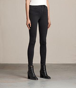 Womens Eve Lux Jeans (Black) - product_image_alt_text_3
