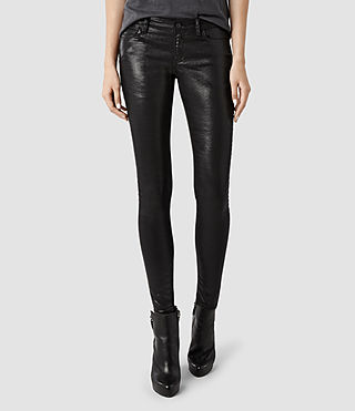 Womens Petrel Ashby Jeans (Black)