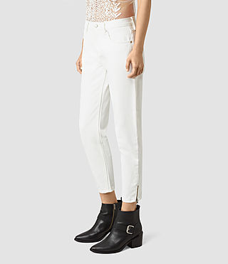 Mujer Jasper Denim Jeans (Off White) - product_image_alt_text_2