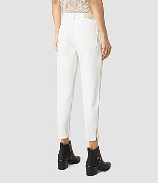 Women's Jasper Denim Jeans (Off White) - product_image_alt_text_3