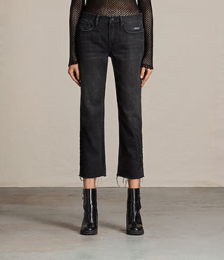 Femmes Jean Philly Boys (Washed Black) -