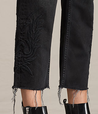 Femmes Jean Philly Boys (Washed Black) - product_image_alt_text_2