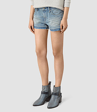 Damen Kim Shorts (LIGHT INDIGO BLUE) - product_image_alt_text_3