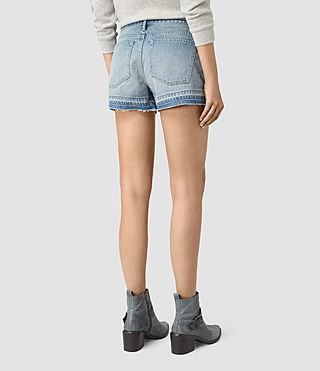 Damen Kim Shorts (LIGHT INDIGO BLUE) - product_image_alt_text_4