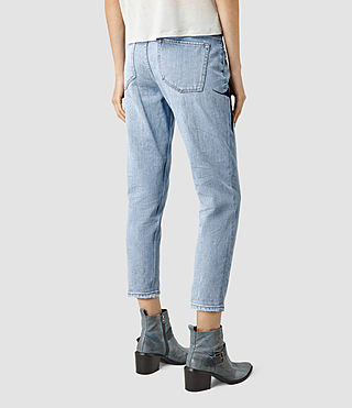 Mujer Birds Jeans (Indigo Blue) - product_image_alt_text_4