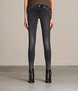 Women's Mast Jeans (Washed Black) -