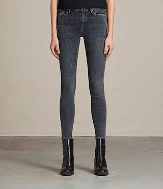 Damen Eve Jeans (RAVEN BLACK)