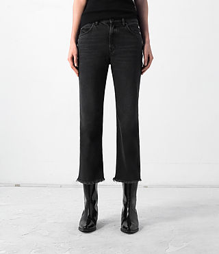 Femmes Mazzy Jeans (Black)