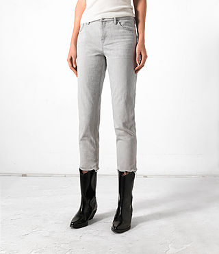 Damen Mercury Jeans (Grey)
