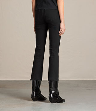 Damen Zoe Cropped-Jeans mit Bootcut (Jet Black) - product_image_alt_text_4