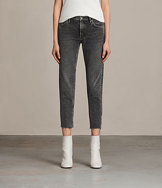 Mujer Vaqueros Muse Slim (Vintage Grey) - product_image_alt_text_1