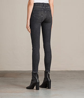 Mujer Grace Jeans (Washed Black) - product_image_alt_text_4