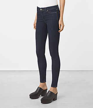 Womens Grace Jeans (Rinse Wash) - product_image_alt_text_2