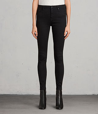 Womens Grace Jeans (Jet Black)