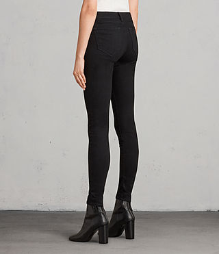 Womens Grace Jeans (Jet Black) - Image 2