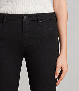 Womens Grace Jeans (Jet Black) - Image 3