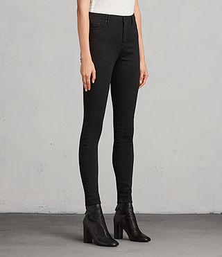 Womens Grace Jeans (Jet Black) - Image 4