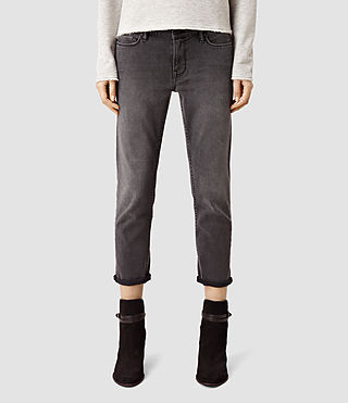 Womens Fay Jeans/Dark Grey (Dark Grey)