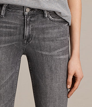 Womens Mast Ankle Jeans (Grey) - product_image_alt_text_2