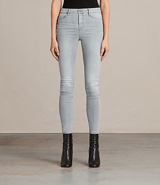 Womens Grace Jeans (Steel Grey) - product_image_alt_text_1