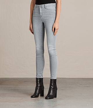 Womens Grace Jeans (Steel Grey) - product_image_alt_text_3