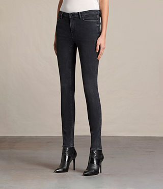 Damen Mast Jeans (Washed Black) - Image 4
