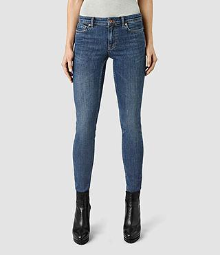 Womens Mast Jeans / Washed Dark Indigo (WSHD DARK INDG BLU)