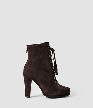 Femmes Grimsby Boot (DARK CHOCOLATE) -