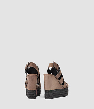 Mujer Marzee Wedge Sandal (Chocolate) - product_image_alt_text_3