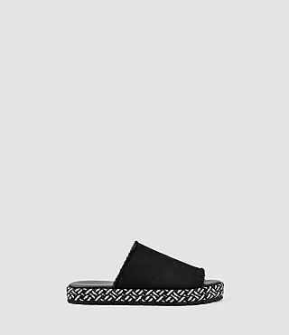 Mujer Sandalias Bette (Washed Black)