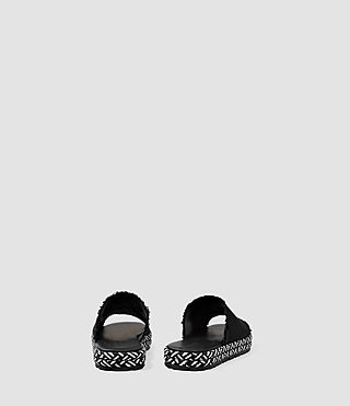 Womens Bette Sandal (Washed Black) - product_image_alt_text_3
