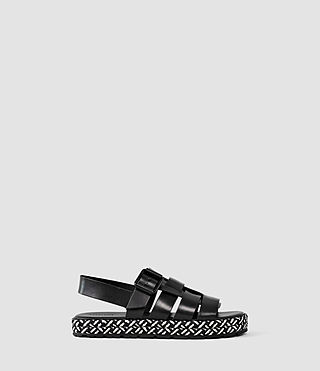 Damen Botan Sandal (Black/White) -