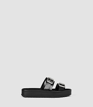 Donne Kitchener Sandal (Black)