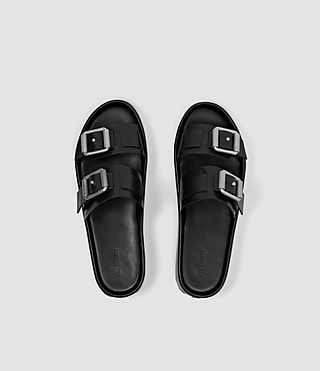 Womens Kitchener Sandal (Black) - product_image_alt_text_4