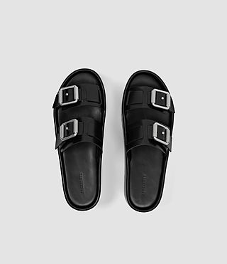 Mujer Knox Sandal (Black) - product_image_alt_text_4