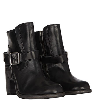 Womens Jules Heeled Biker Boot (Black) - product_image_alt_text_6