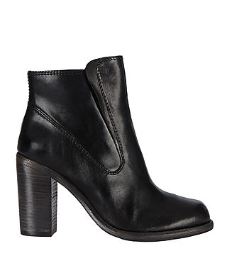 Womens Jules Heeled Biker Boot (Black) - product_image_alt_text_8