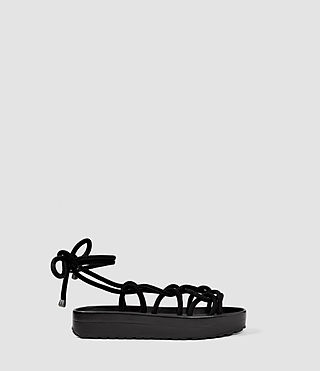 Womens Kofu Sandal (Black)