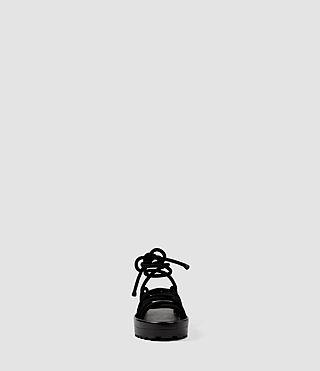 Women's Kofu Sandal (Black) - product_image_alt_text_2