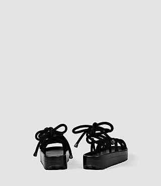 Women's Kofu Sandal (Black) - product_image_alt_text_3