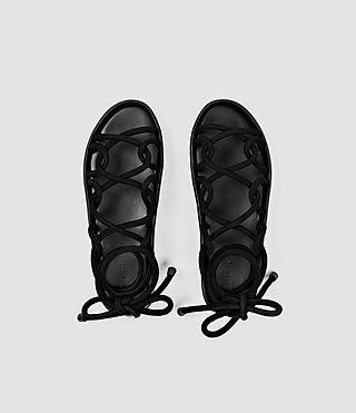 Women's Kofu Sandal (Black) - product_image_alt_text_4
