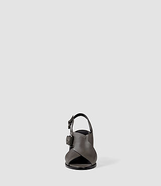 Donne Elin Wedge Sandal (Dark Grey) - product_image_alt_text_2